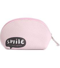 cosmetiquera smile color surtido, talla uni