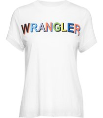80´s tee t-shirts & tops short-sleeved vit wrangler