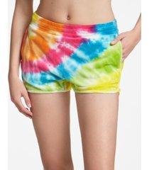women's tie dye shorts