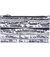 alexander mcqueen animalier print wallet