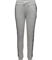 track pant hwk pyjamasbyxor mjukisbyxor grå tommy hilfiger