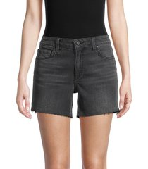 joe's jeans women's easy cutoff denim shorts - glendora - size 28 (4-6)