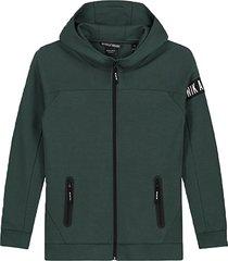 nik & nik vest murphy jacket groen