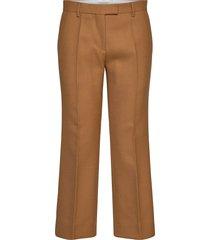 verbena pantalon met rechte pijpen bruin tiger of sweden
