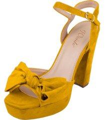 sandalia alice amarillo weide