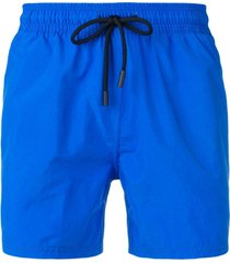 etro drawstring swim shorts - azul