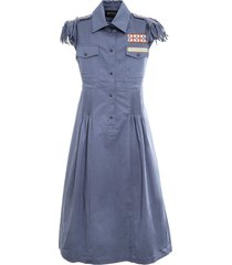 embroidered midi dress for woman
