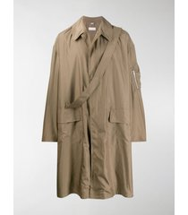 random identities oversized trench coat