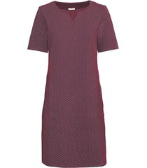 jersey jurk van structuur-jacquard, grijs-motief 42