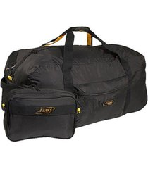 """a. saks 36"""" duffel bag with pouch"""