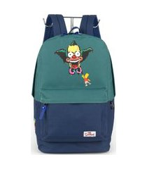 mochila escolar simpsons ms46081ss-vd