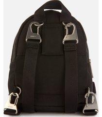 kenzo women's kampus canvas mini backpack - black
