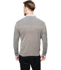 sweter ciliant półgolf szary