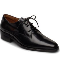 shoes 4700 snörade skor låga svart billi bi