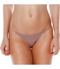 calcinha string com regulagem nozes - 532.021 marcyn lingerie string bege