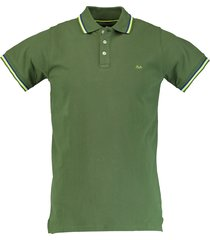 born with appetite sunny - fancy polo pique 18108su32/368 olive