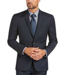 awearness kenneth cole awear-tech blue extreme slim fit suit separates coat