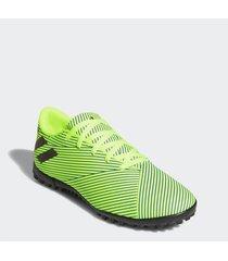 botín verde adidas nemeziz 19.4 ver tf