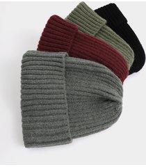 sombrero de lana de punto casual