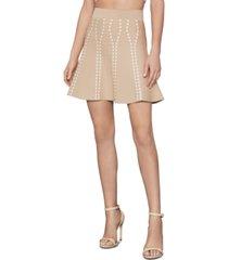 bcbgmaxazria flounce a-line skirt