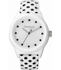 reloj blanco reebok classic r