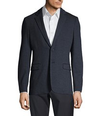 clinton marled ponte suit jacket