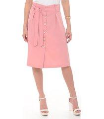 falda para mujer rosado - 1398