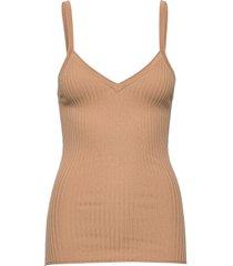 anett t-shirts & tops sleeveless beige fall winter spring summer