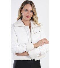 chaqueta gamuza diadora crema night concept