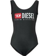 mlamnew kid beachwear badpak badkleding zwart diesel
