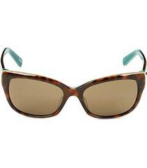 53mm johanna cat eye sunglasses