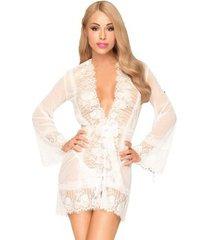 pyjama's / nachthemden sols penthouse hypnotic power babydoll blanco