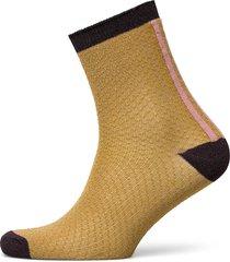 shimmer pasha sock lingerie socks regular socks gul becksöndergaard