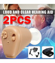audífonos con amplificador de sonido invisible,recargable