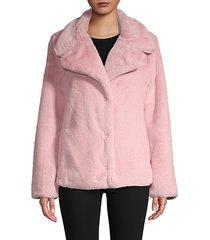 short faux-fur jacket