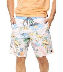 traje de baño beige billabong sundays lt surf club
