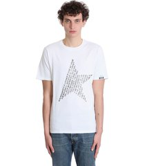 adamo t-shirt in white cotton