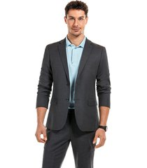 blazer suit rome gris new man