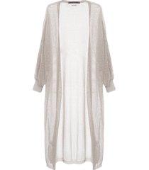 capa feminina tricot rihanna - cinza