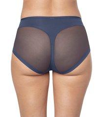 panty panty control suave azul leonisa 012657