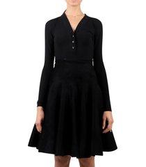 alaia black bodysuit