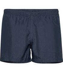 swim shorts side stripes badshorts blå ron dorff