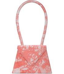 amélie pichard flat tie-dye bag - pink