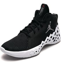 tenis basketball negro-blanco nike jumpman diamond mid