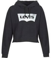sweater levis graphic raw cut hoodie