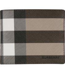 burberry regular stripe billfold wallet