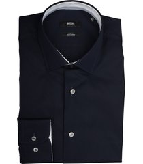 hugo boss overhemd joram donkerblauw 50415607/404