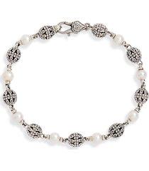 women's konstantino kleos pearl bracelet