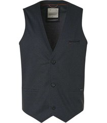 no excess gilet all over printed jersey unlin night