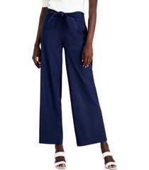 inc tie-front pants, created for macy's